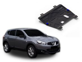 Protectores  de motor y caja de cambios Nissan  Qashqai 1,6; 2,0 2006-2014
