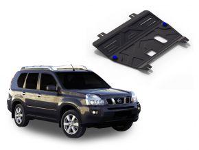 Protectores  de motor y caja de cambios Nissan  X-Trail T31 2,0; 2,5 2007-2013
