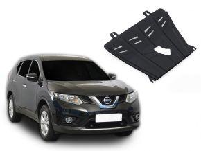 Protectores  de motor y caja de cambios Nissan X-Trail T32 2,0; 2,5 2015
