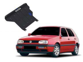 Protectores  de motor y caja de cambios Volkswagen Golf III  MT 1,4; 1,6; 1,8; 2,0; 1,9TD 1991-1997