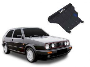 Protectores  de motor y caja de cambios Volkswagen Golf II MT se adapta todos motores 1986-1992