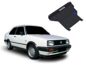 Protectores  de motor y caja de cambios Volkswagen Jetta MT 1,6; 1,8 1984-1992