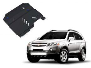 Protectores  de motor y caja de cambios Chevrolet Captiva 2,4; 3,2 2006-2011