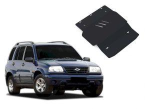Protectores  de motor y caja de cambios Chevrolet Tracker se adapta todos motores 1998-2004