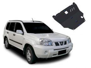 Protectores  de motor y caja de cambios Nissan X-Trail se adapta todos motores 2001-2007