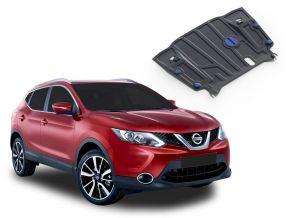 Protectores  de motor y caja de cambios Nissan Qashqai CVT 2,0; 1,2; 1,6D 2014-2019