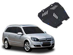 Protectores  de motor y caja de cambios Opel Astra 1,4; 1,6; 1,8 2004-2009