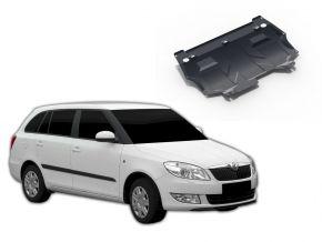 Protectores  de motor y caja de cambios Skoda Fabia 1,2; 1,4; 1,6 2007-2015
