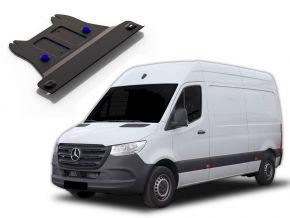 Tapa de caja de engranajes de acero para MERCEDES BENZ SPRINTER 2WD 311CDI; 2WD 315CDI; 2WD 515CDI solo para motor el especificado! 2009-2013