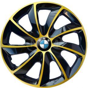 """Puklice pre BMW 16"""", STIG EXTRA zlaté  4ks"""