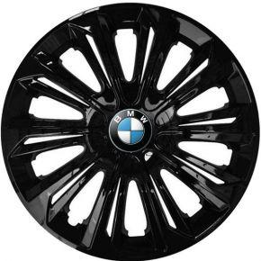 "Tapacubos para BMW 15"", STRONG NEGRO LACADO 4 pzs"