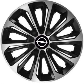 "Tapacubos para OPEL 15"", STRONG DUOCOLOR 4 pzs"