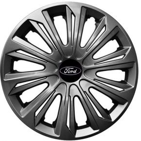 "Tapacubos para FORD 15"", STRONG GRAFFITE LACADO 4 pzs"