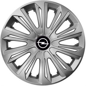 "Tapacubos para OPEL 15"", STRONG GRIS 4 pzs"