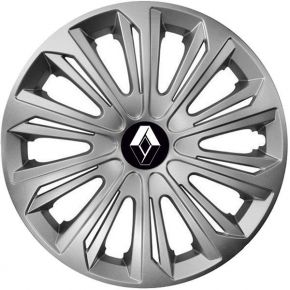 "Tapacubos para RENAULT 15"", STRONG GRIS 4 pzs"
