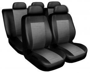 Fundas de asiento universales SUPERIOR gris