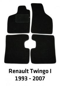 Alfombrillas de velours para Renault Twingo I, 1993-2006