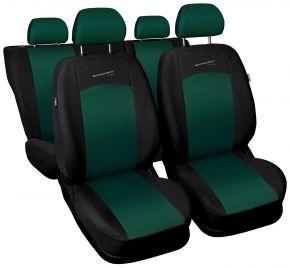 Fundas de asiento universales SPORT LINE verde