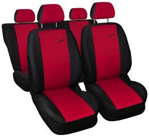 Fundas de asiento universales XR rojo