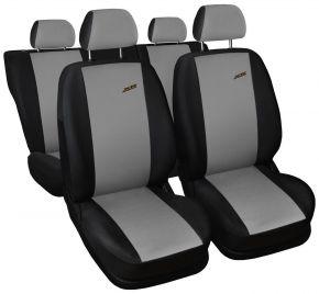 Fundas de asiento universales XR gris