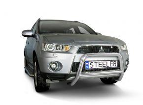 Bullbar delanteros Steeler para Mitsubishi Outlander 2010-2012 Modelo A