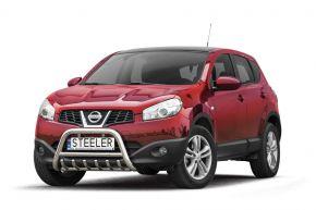 Bullbar delanteros Steeler para Nissan Qashqai 2010-2013 Modelo G