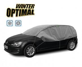 Funda protectora INVIERNO OPTIMAL para los vidrios y el techo del auto Opel Corsa (D) 2007 275-295 cm