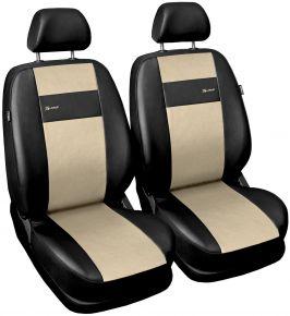 Fundas de asiento universales X-Line beige