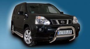 Bullbar delanteros Steeler para Nissan X-Trail 2007-2010 Modelo A