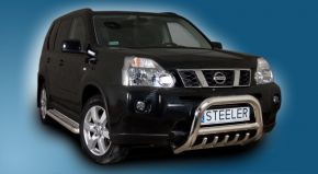 Bullbar delanteros Steeler para Nissan X-Trail 2007-2010 Modelo G